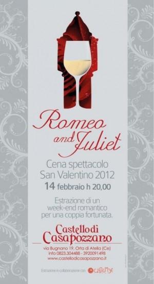 Romeo  Juliet e vinci un weekend romantico  Notizie  Castello di Casapozzano  Matrimoni