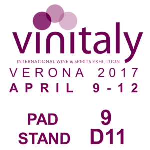 2017 Vinitaly booth