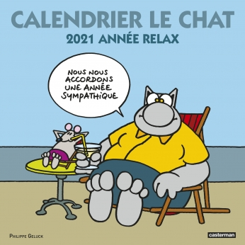 Calendrier Le Chat 2021