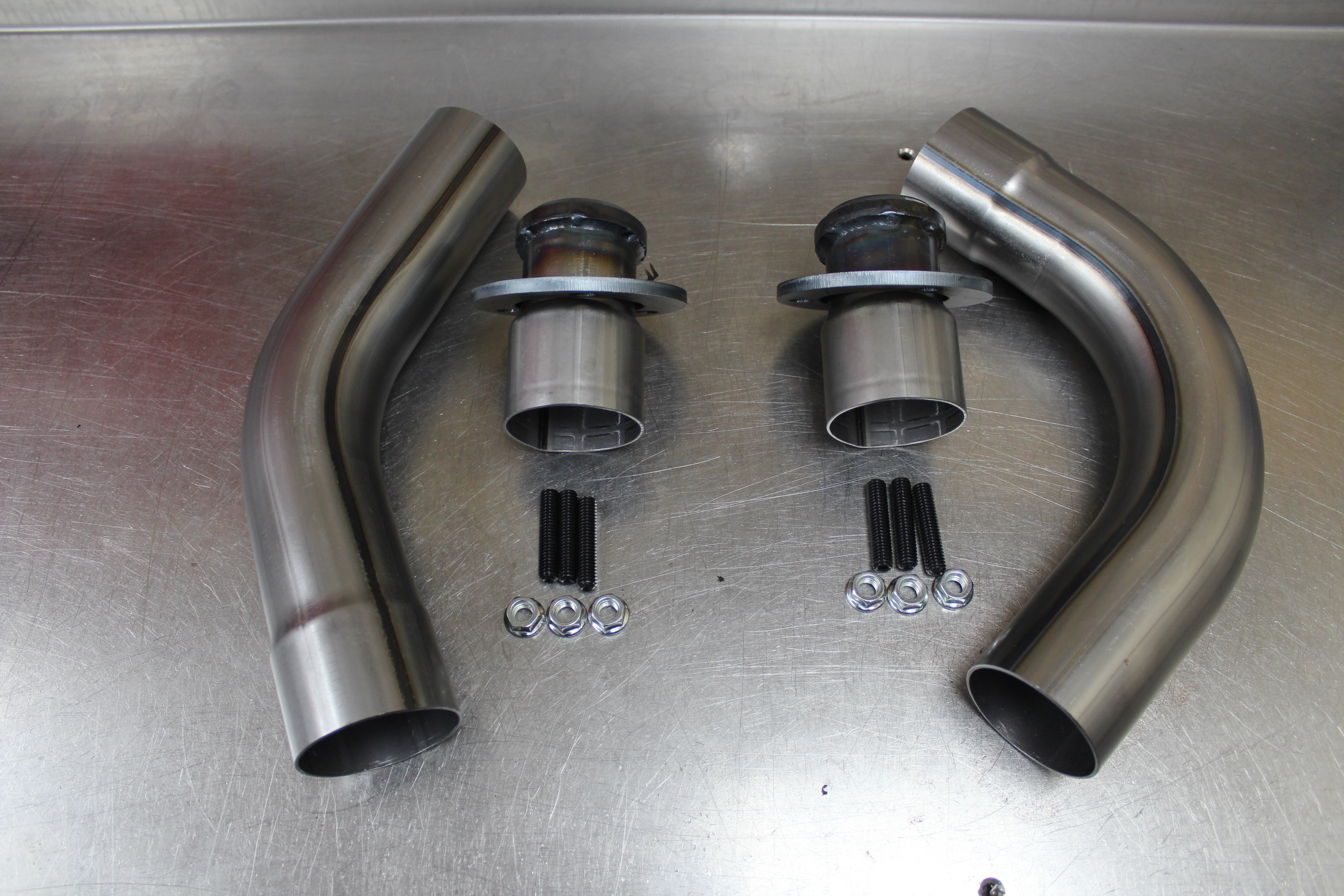 log style exhaust manifolds