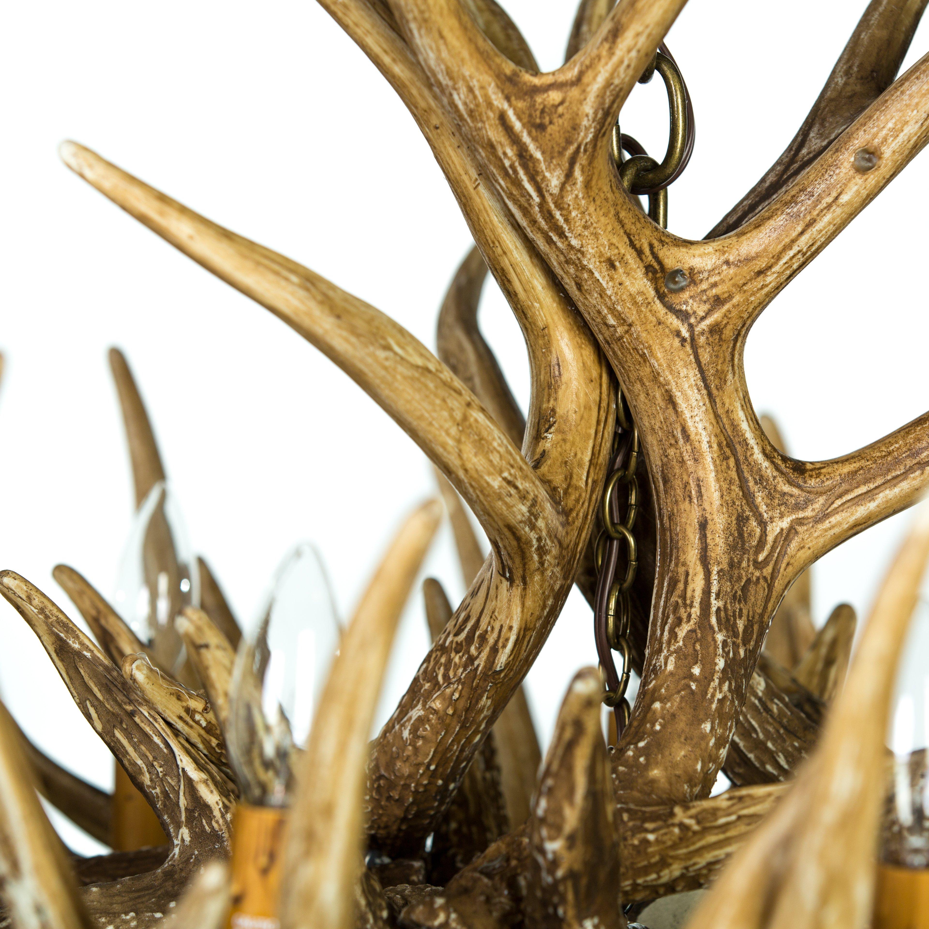 Horn lighting fixtures elk horn lighting fixtures arubaitofo Image collections
