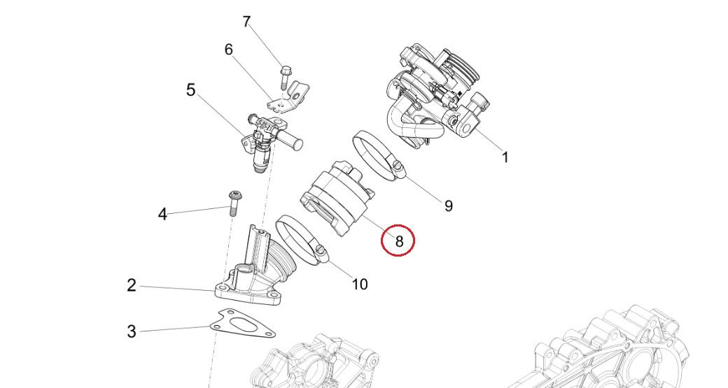 Vendita Online collettori aspirazione scooter 50 4t