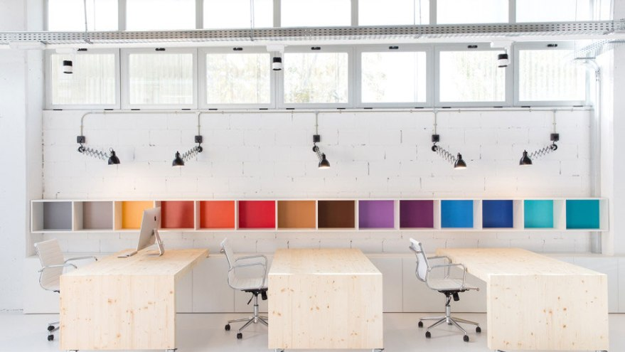 distribución y decoración de oficinas