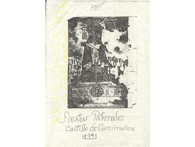 Programas de Fiestas Antiguos. Año 1991.