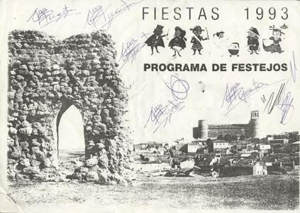 Programa de Fiestas 1993