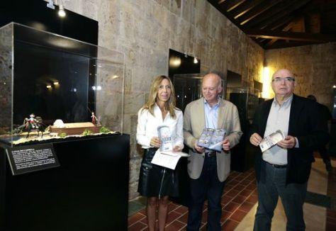 Maquetas Plastihistoria en el Castillo de Fuentes de Valdepero