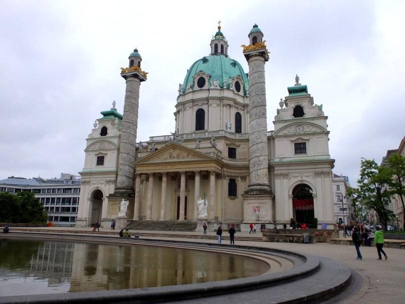 promenade à vienne - Église Saint-Charles-Borromée