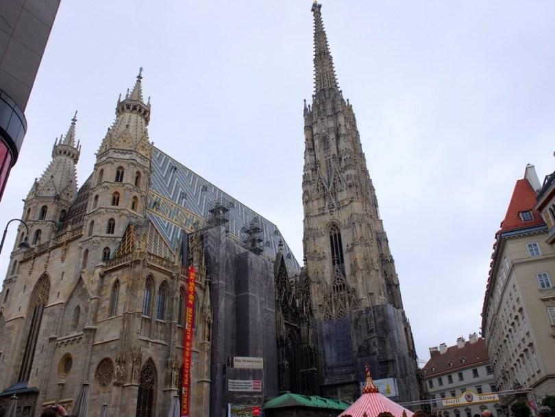 promenade à vienne - cathédrale st etienne