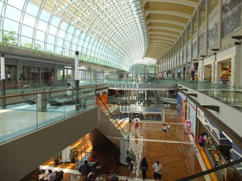 Marina Bay Sands Singapour - centre commercial