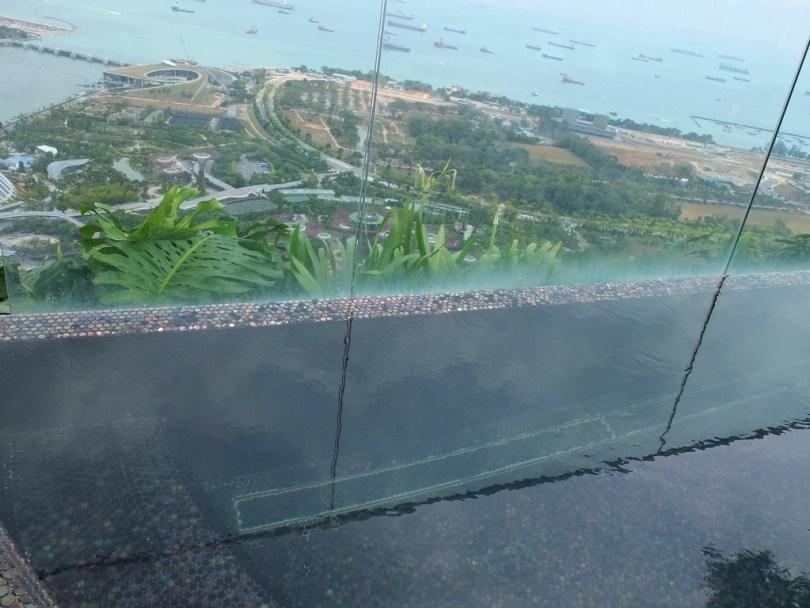 Marina Bay Sands Singapour - jacuzzi