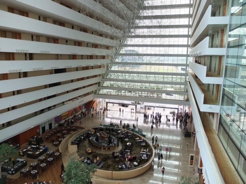 Marina Bay Sands Singapour - lobby tower 1
