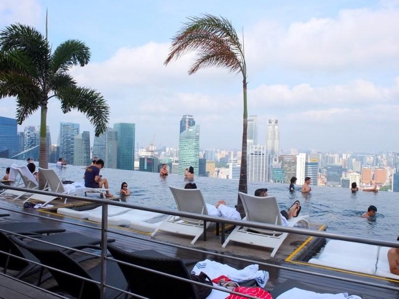 Marina Bay Sands Singapour - piscine