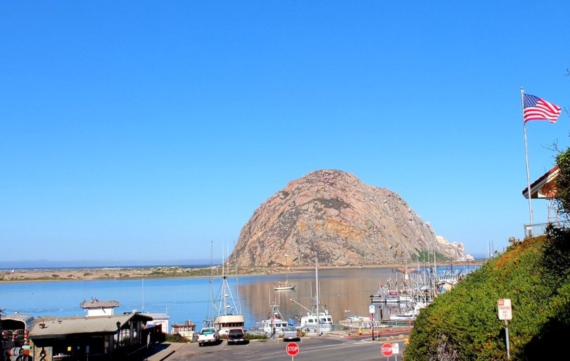 USA Morro Bay Morro Rock