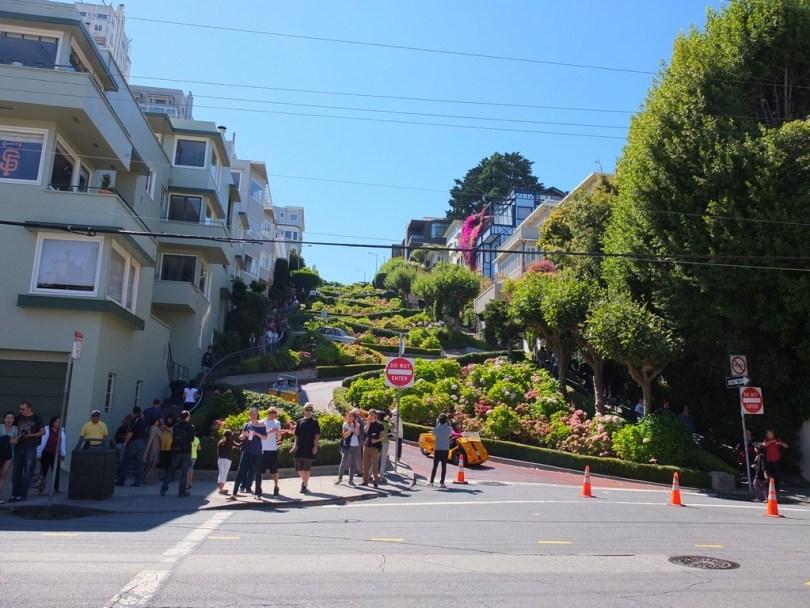 USA San Francisco - Lombard Street