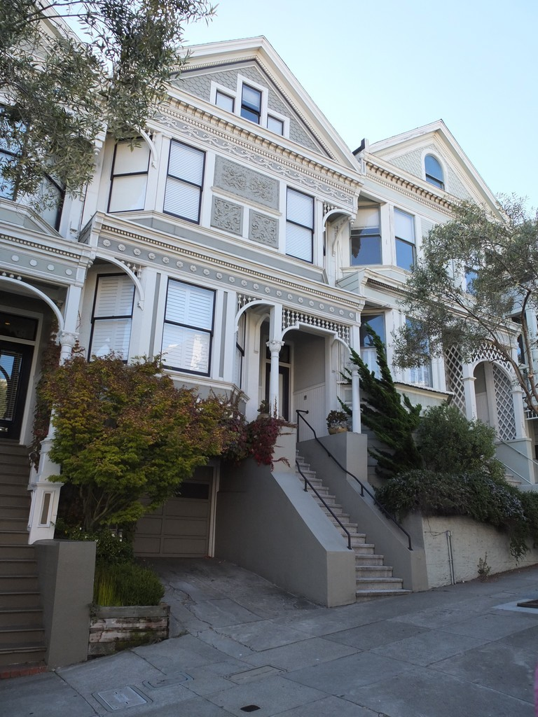 USA San Francisco - maison typique