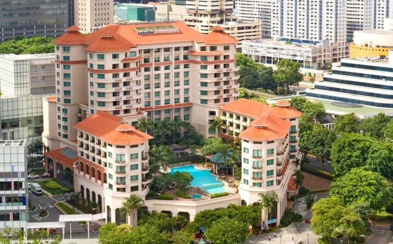 swissotel merchant court Singapour