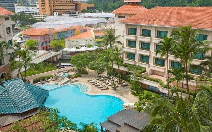 swissotel merchant court Singapour - Piscine