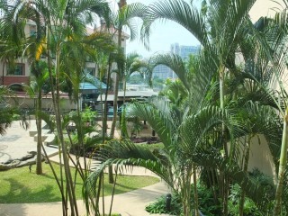 swissotel merchant court Singapour - vue chambre