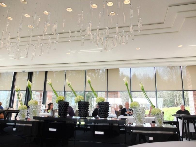 Restaurant Villa Rene Lalique - Salle