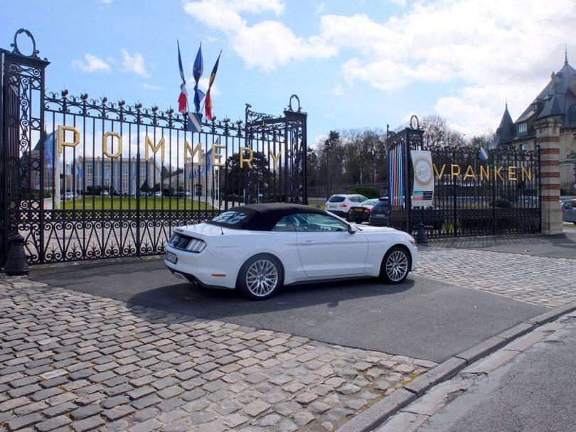 Pommery Vankren visite à Reims