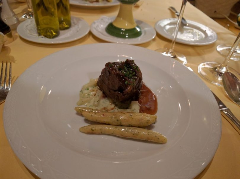 Hotel Bareiss Schwarzwald - dîner demi-pension