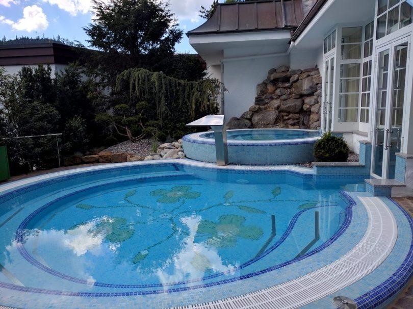 Hotel Bareiss Schwarzwald - espace sauna