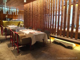 Restaurant Megu- The Alpina Gstaad