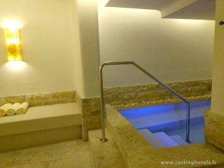 Spa 6 senses / bassin froid côté femme - The Alpina Gstaad