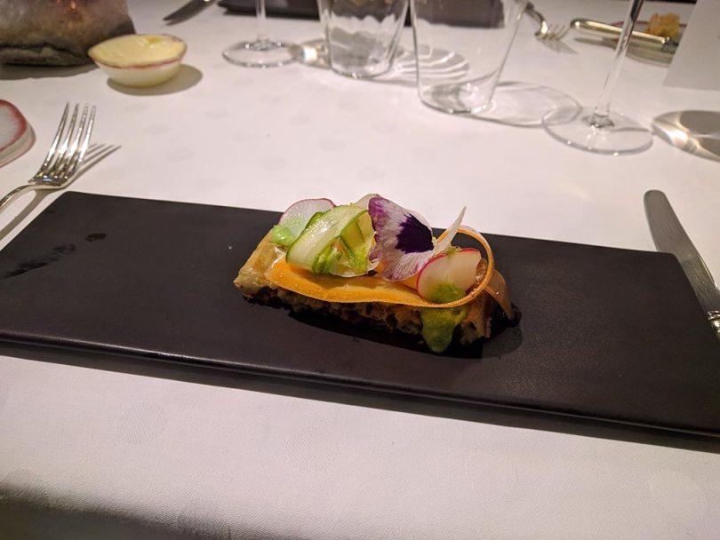 Restaurant Koehler auberge du cheval blanc à Westhalten - gaufres végétales