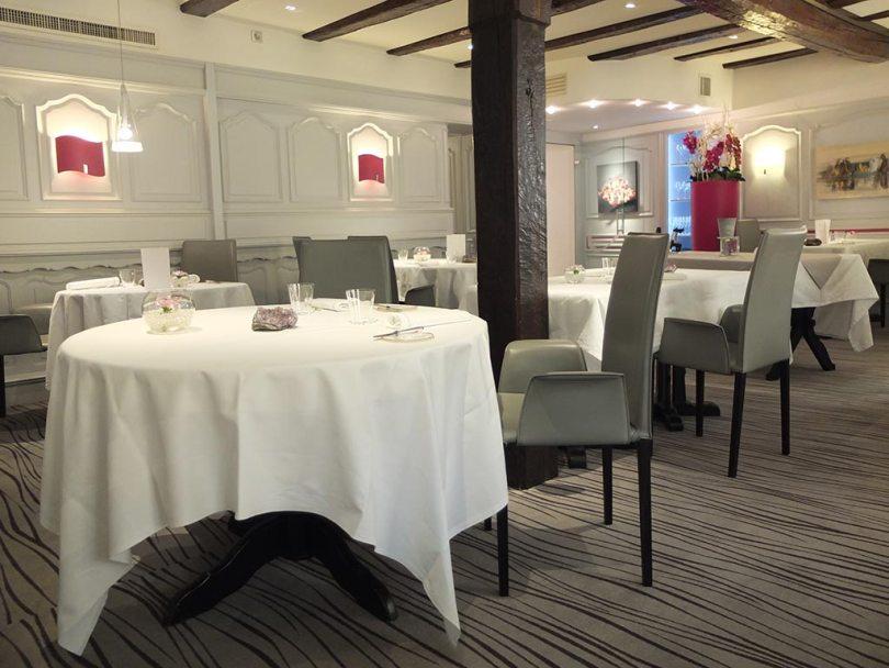 Restaurant Koehler auberge du cheval blanc à Westhalten - salle
