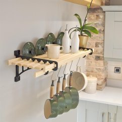 Kitchen Shelf Table For Rack 8 Laths Cast In Style