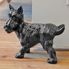 Kitchen Cabinet Fronts Round Island Scottie Dog Door Stop Cast Iron Stops And Wedges