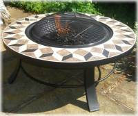 Round table Fire pit: Braziers, fire baskets copper ...