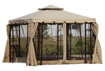 Gazebos Buy Your Metal Framed Garden Gazebo Awnings And