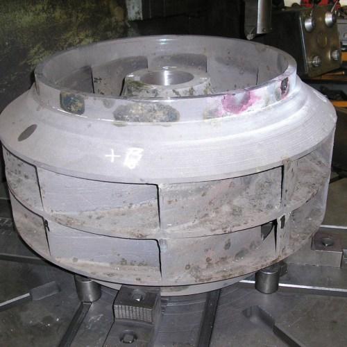 Cast Iron Welding Services Pump Impeller Repair