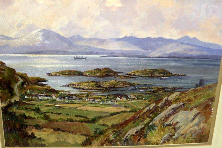 Castle Close Antiques Donald Shearer Invergordon Oil Painting Paintings