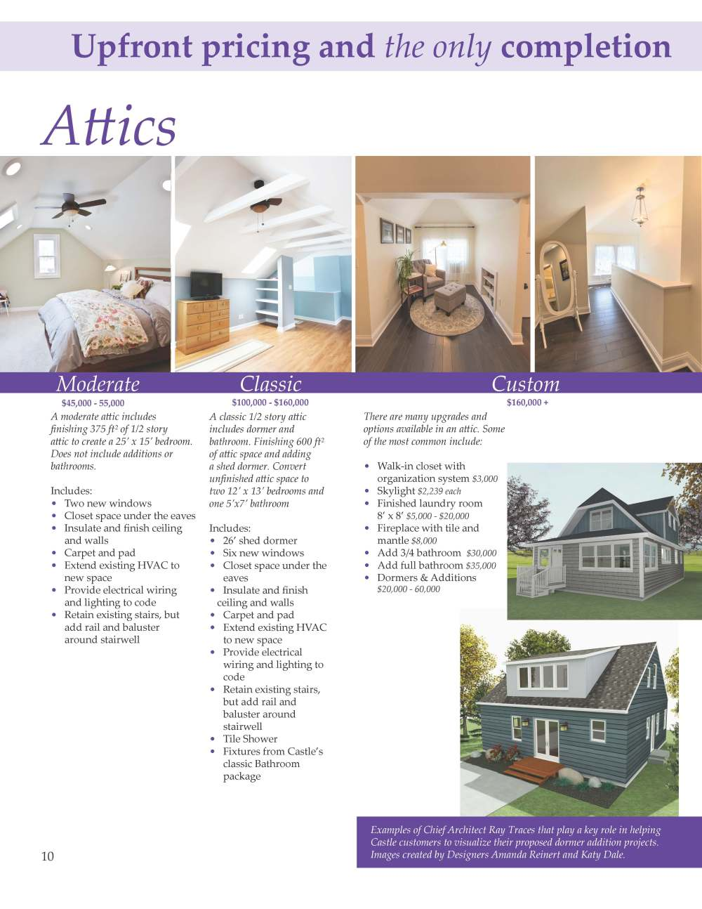 medium resolution of view our castle attic flyer