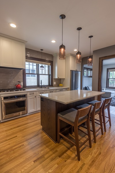 craftsman style kitchen hardware ceiling fans with bright lights project 3265-1 - castle building & remodeling, inc.