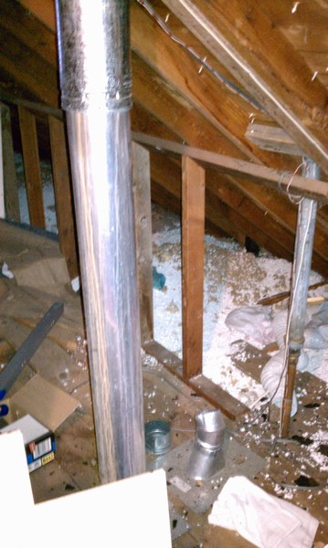 Attic Project 16302 at St Louis Park  Castle Building  Remodeling Inc