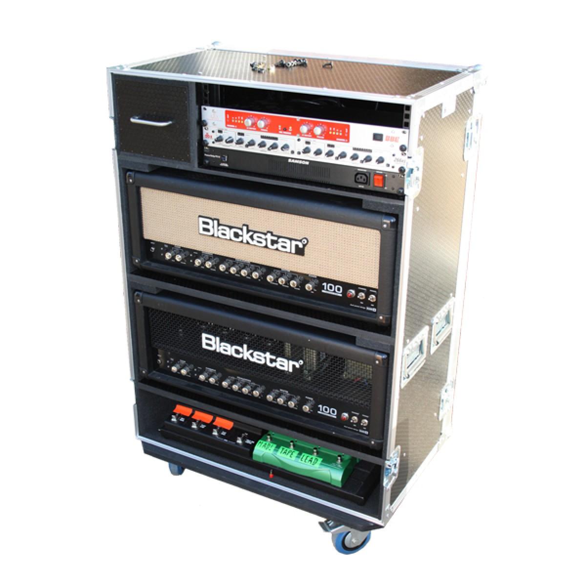 amp head rack case