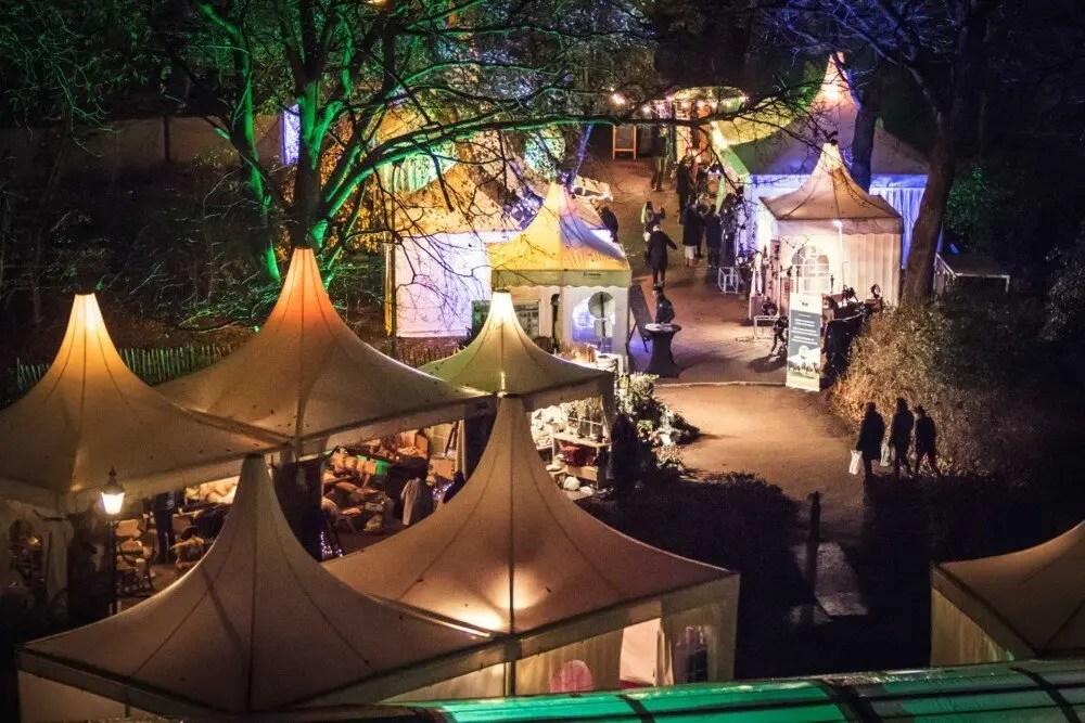 Kerstmarkt 2015 Castle Christmas Fair te Heemskerk