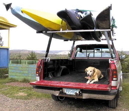 CastleCraft Boat Racks for Trucks