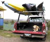 CastleCraft Boat Racks for Trucks | Canoe Truck Rack ...