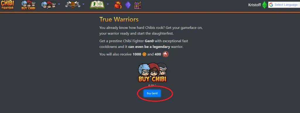buy chibi fighter