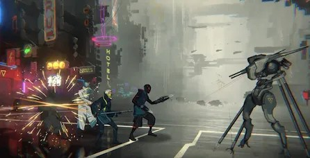 neon district trailer gameplay