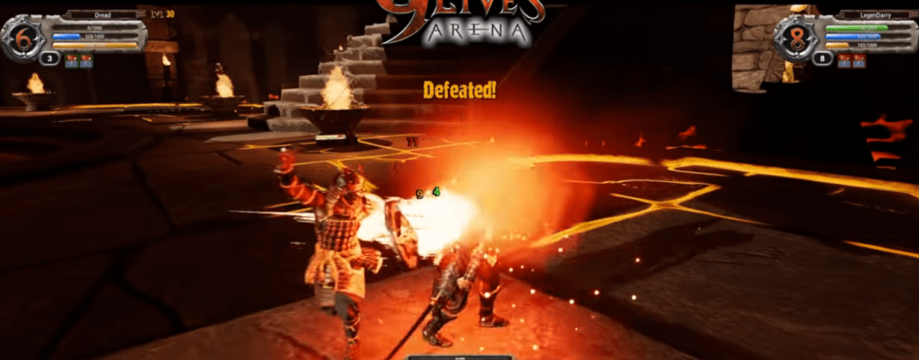 9 lives arena fight