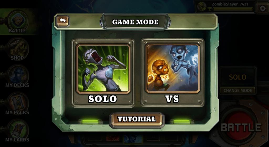 vs battle mode