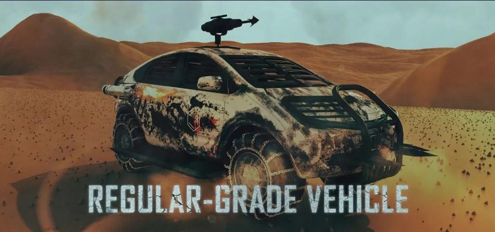 regular grade vehicle