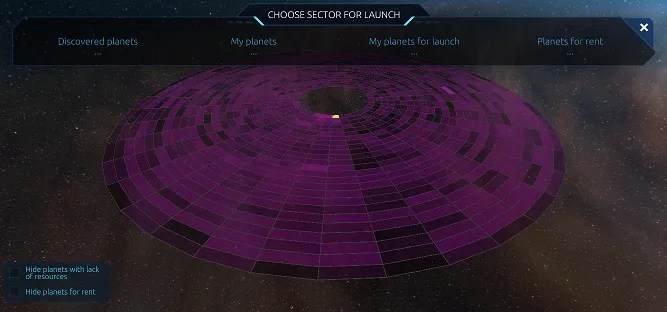 launch sector