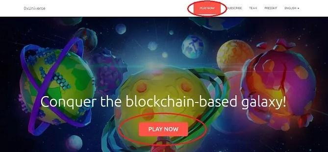 blockchain galaxy